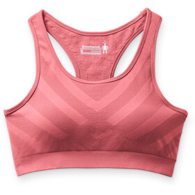 Smartwool Seamless Racerback Sports-bh Damer, tea rose